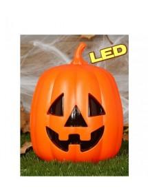 Abóbora com LED ( 20cm )