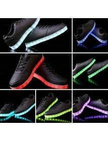 Ténis LED ( Pretos )