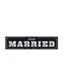 Banner Just Married Deluxe (50x11,5cm)