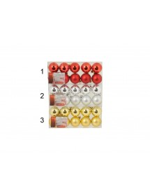 Bolas de Natal ( Pack 10 )