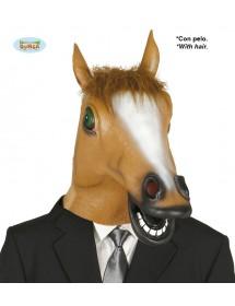 Cabeça Cavalo Castanho