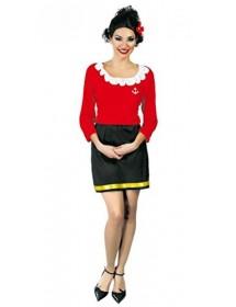 Vestido Mulher de Marinheiro