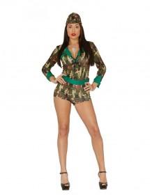 Fato Mulher Militar