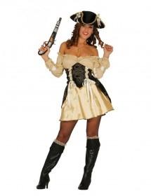 Vestido Mulher Pirata Deluxe