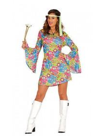 Vestido Hippie Flores