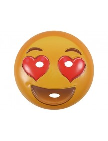 Máscara Emoji Corações