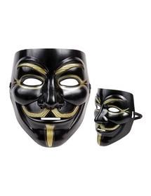 Máscara Anonymous Preta