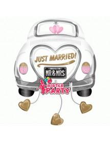 Balão Foil Carro Just Married