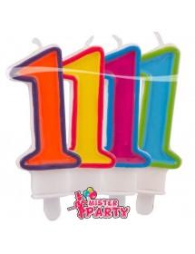 Velas Números Coloridos (0-9)