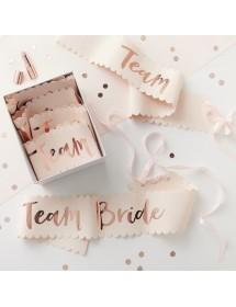 Conjunto de Faixas Team Bride Deluxe