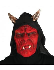 Máscara Diabo com capuz