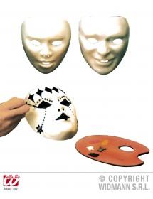 Máscara Branca p/ Pintar