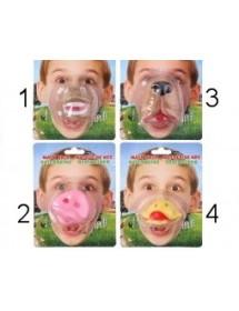 Máscara Plástico Animais