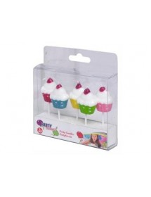 Velas Cupcakes ( Pack 5 )