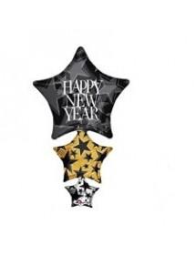 Balão Foil 3 Estrelas
