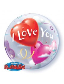 Balão Bubble I Love You