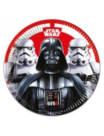 Pratos Star Wars (Pack 8)