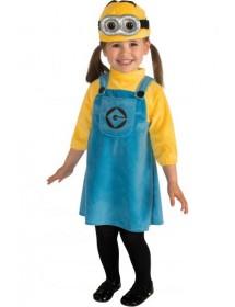 Vestido Minion Criança