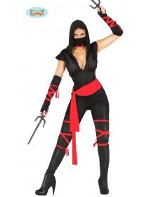 Fato Mulher Ninja