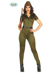 Fato Mulher Militar II