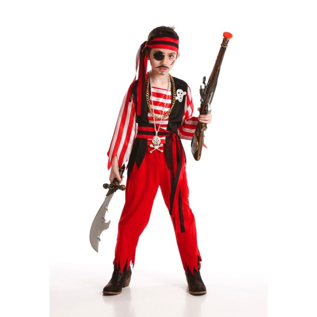 56798b09d57e8 Fato Pirata do Tesouro - Mr. Party