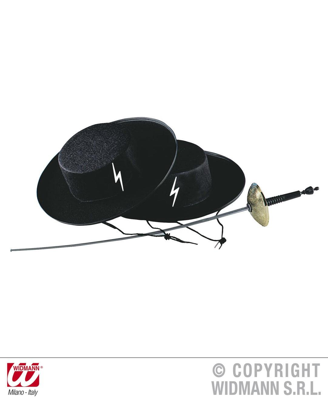 3d44ad437791c Chapéu Zorro - Mr. Party
