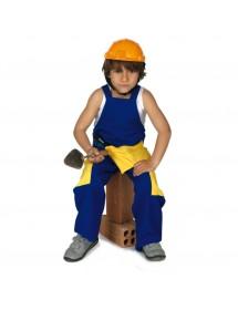 Fato Criança Construtor