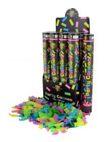 Canhão de Confetis Multicor
