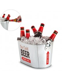 Balde Metal Cervejas