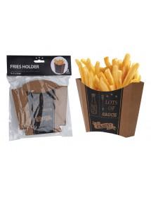 Embalagem para Batatas Fritas Vintage