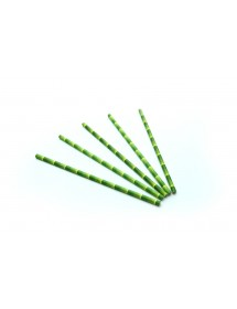 Palhinhas de Papel com Aspecto Bambu (pack 200)