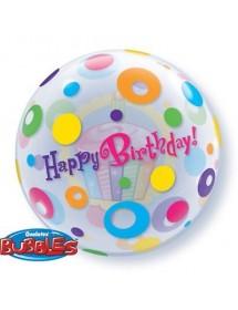 Balão Bubble Aniversário Cupcake