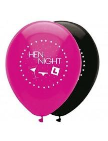 Balões Hen Night 30cm ( Pack 6 )