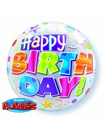 Bubble Qualatex Happy B-Day