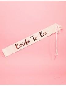 Faixa Bride To Be Deluxe