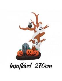 Arvóre Halloween Insuflável 270cm