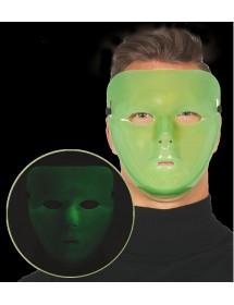 Máscara Simples Glow in the Dark