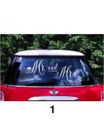 Sticker para Carro Wedding