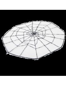Teia Decorativa com Aranha ( 76cm )