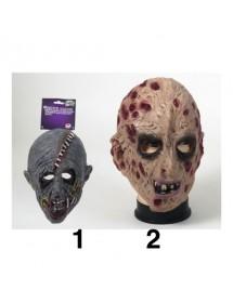 Máscara Zombie ( 2 modelos )