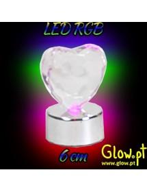 Coração LED (6cm)
