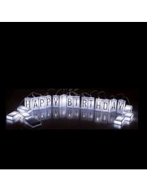 Grinalda de Letras Luminosas