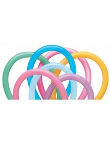 Balões Modelar QUALATEX Vibrantes ( Pack 100 )