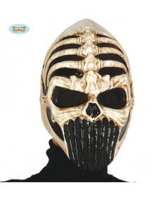 Máscara Caveira Guerreiro PVC