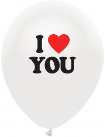 Balões Latex I Love You (Pack 5 )