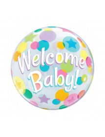 Bubble Qualatex Welcome Baby