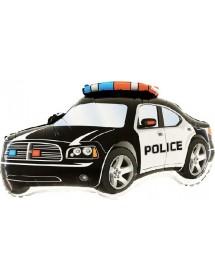 Balão Foil Carro Policia (80cm)
