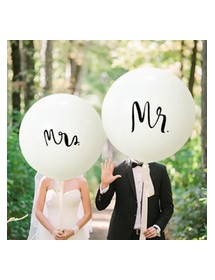 Balão Gigante Mr/Mrs