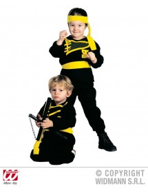 Kit Ninja (casaco, calças, cinto e fita)