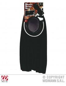 Kit Zorro (máscara, capa, chapéu e cinto)